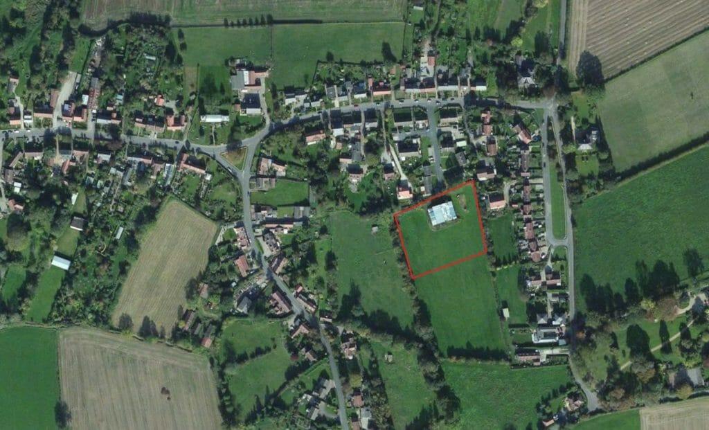 Husthwaite - Site Location Aerial